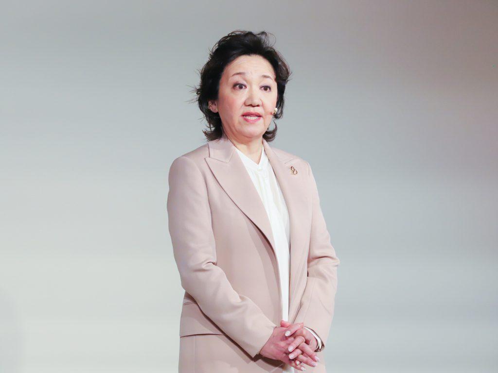 Bà Yukari Suzuki - Giám đốc Thương hiệu Clé de Peau Beauté