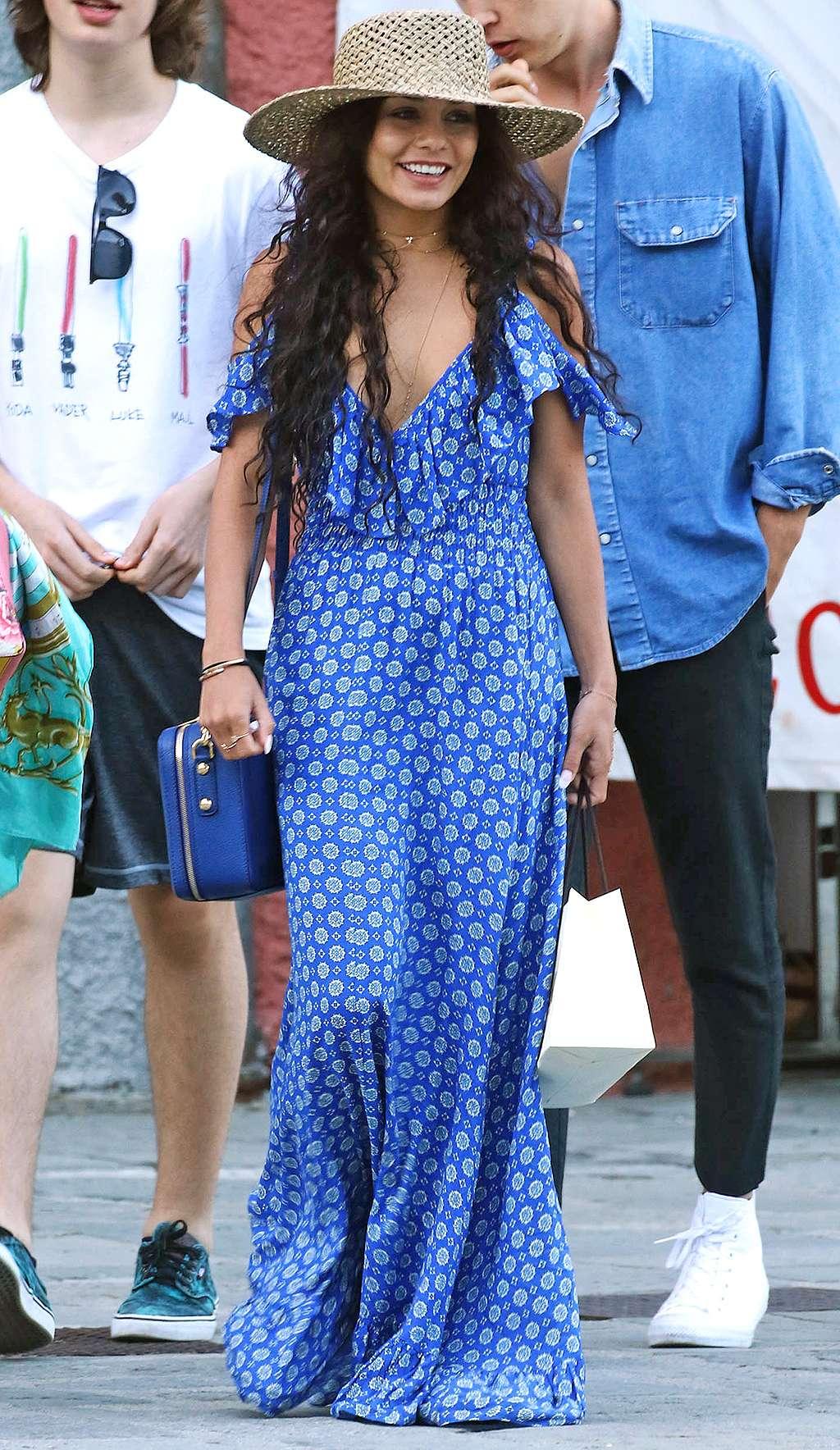 """phong cách thời trang """"nữ hoàng Coachella"""" Vanessa Hudgens 10"""
