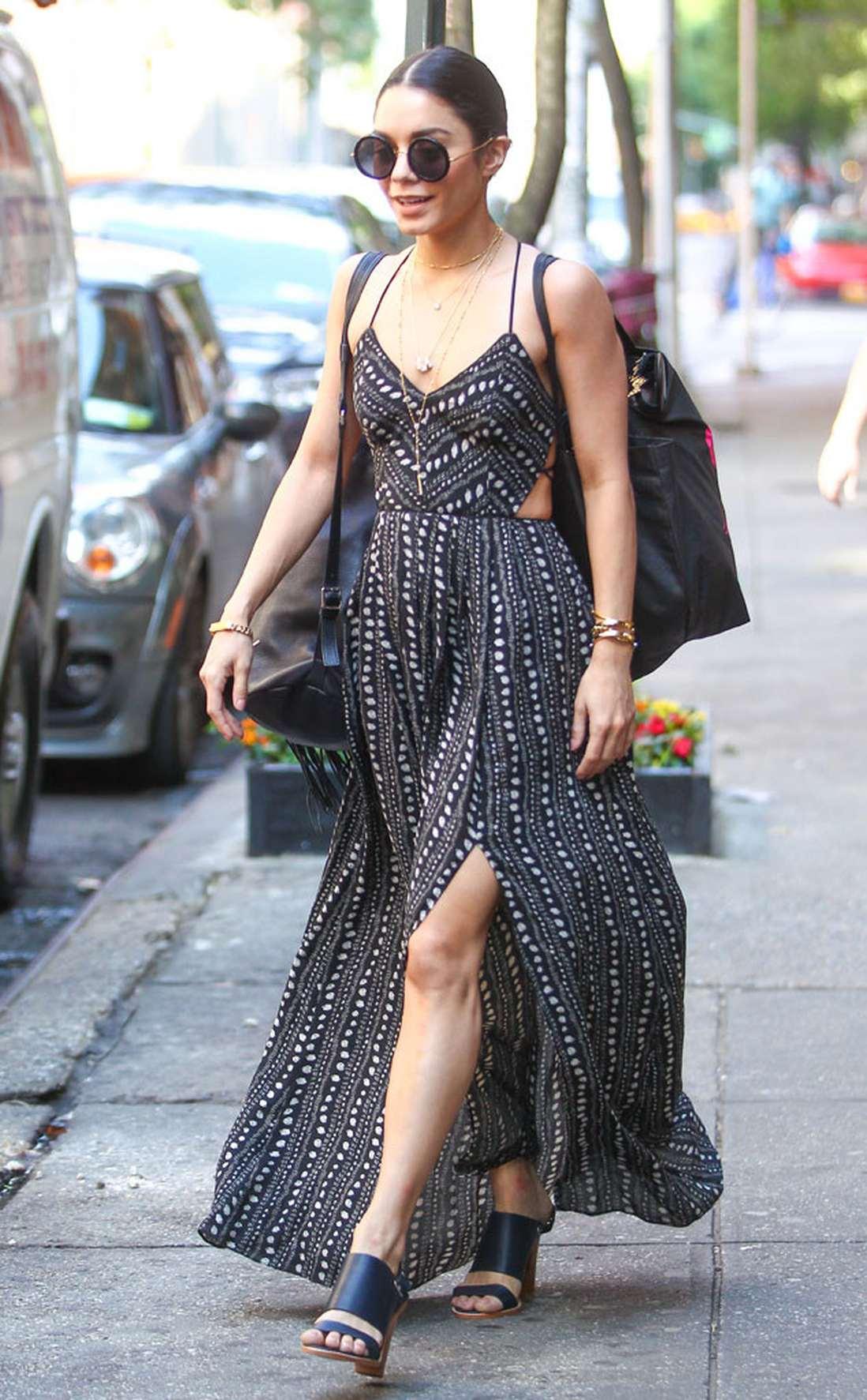"""phong cách thời trang """"nữ hoàng Coachella"""" Vanessa Hudgens 11"""