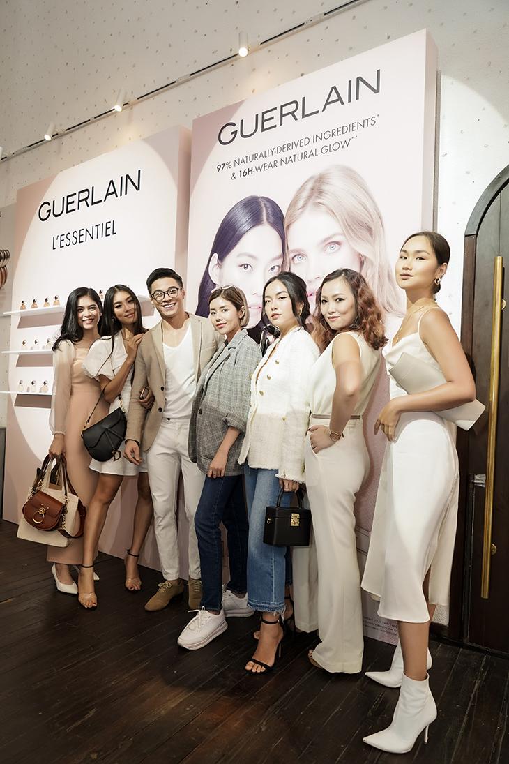 Guerlain-Cac beauty blogger tham du buoi ra mat L_Essentiel