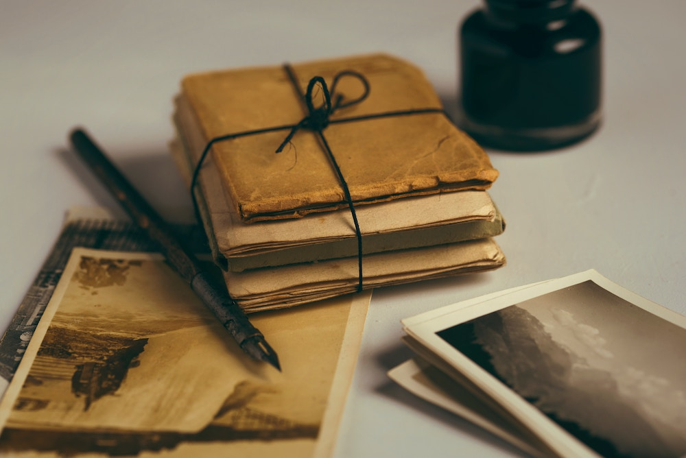 viết thư để chữa lành trái tim