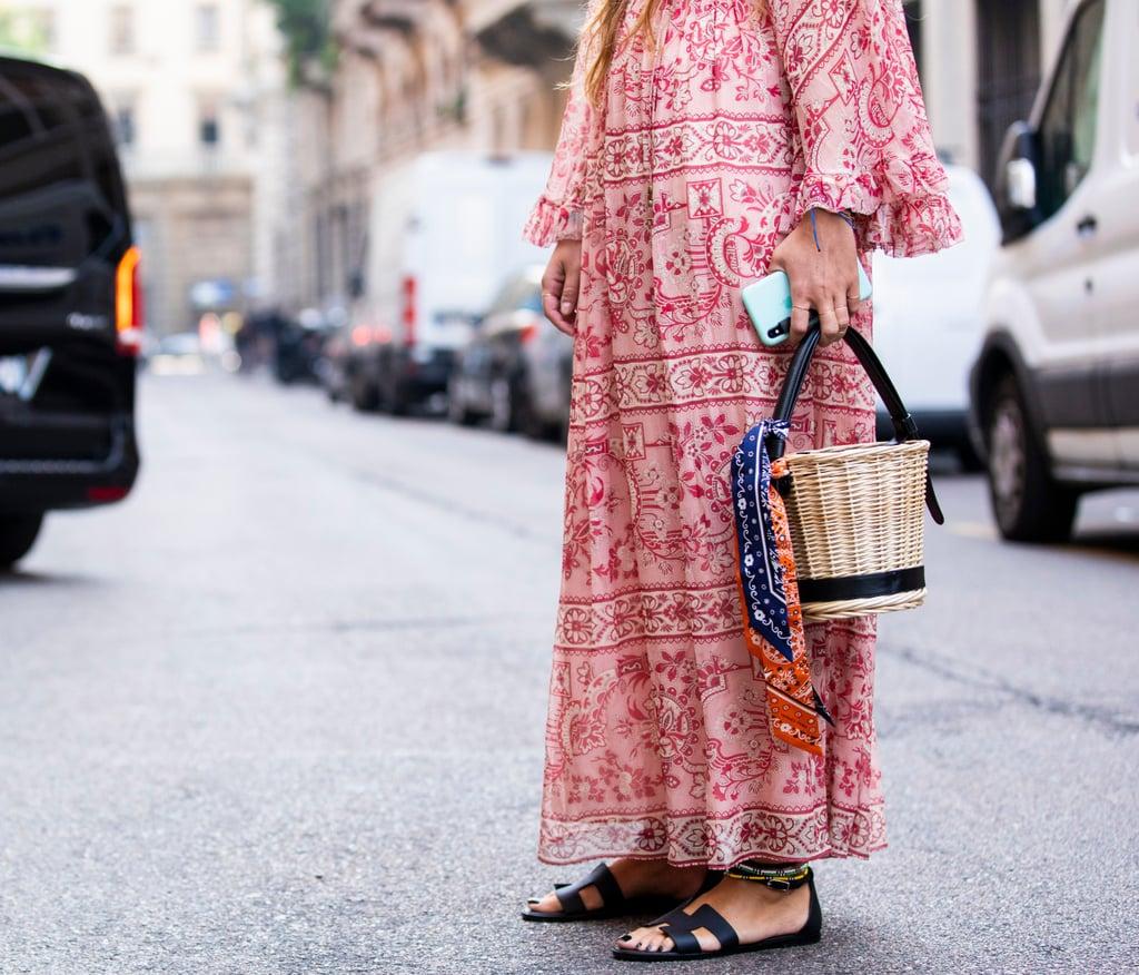 thời trang du lịch giày sandals