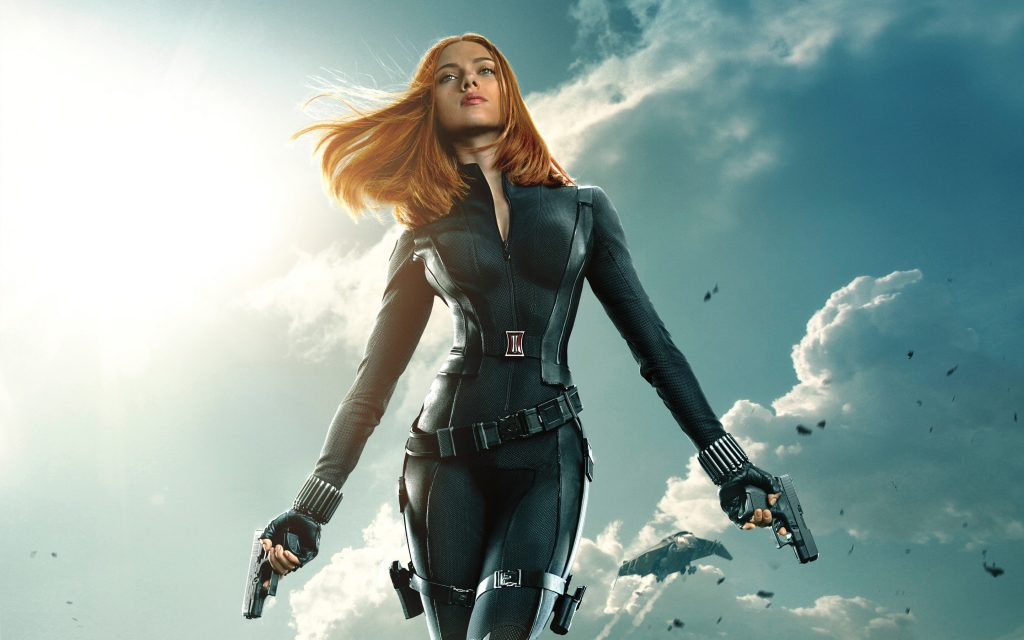 thời trang trong phim black widow Captain America: The Winter Soldier