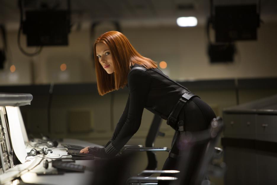 thời trang trong phim black widow Captain America