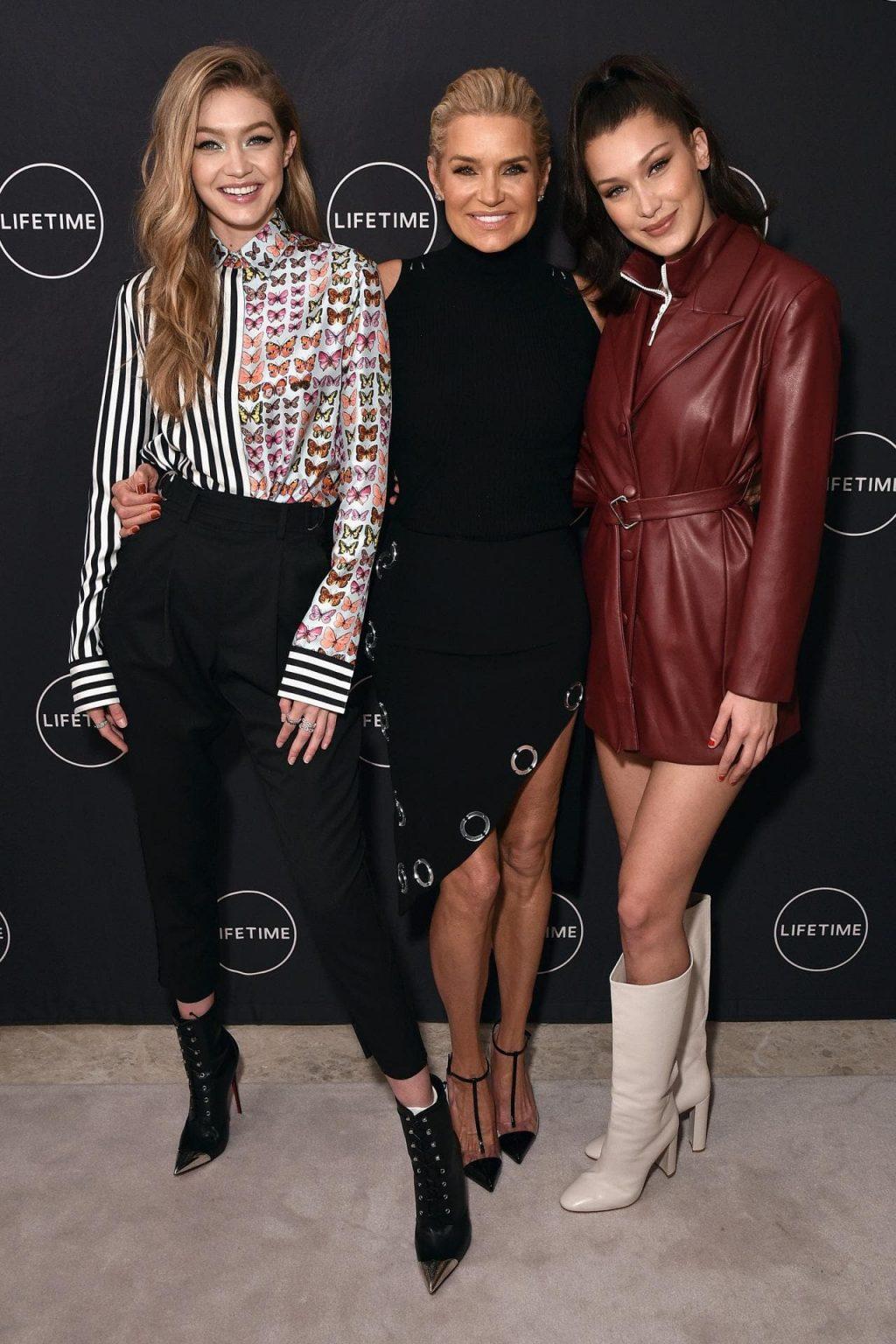 phong cách thời trang Yolanda Foster và Gigi, Bella Hadid