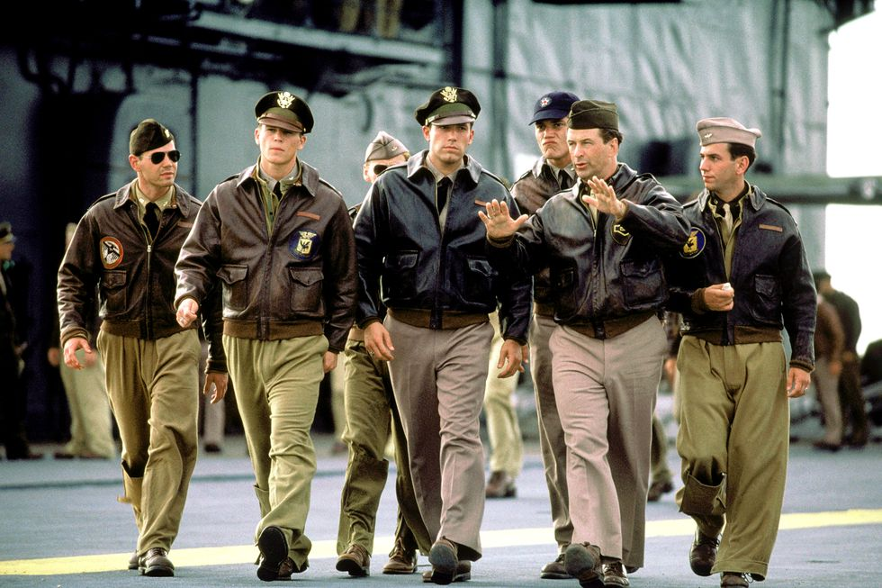 những người lính trong phim Pearl Harbor
