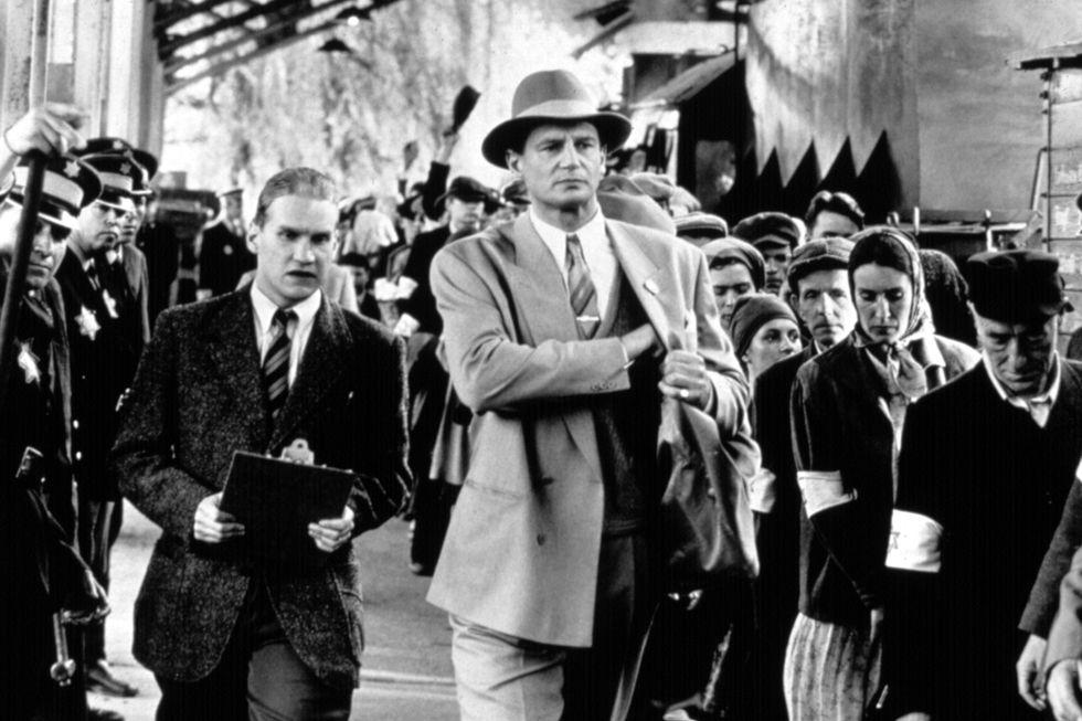 đoàn người trong phim Schindler's List