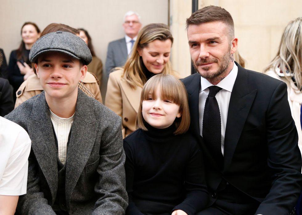 Harper Beckham và David Beckham