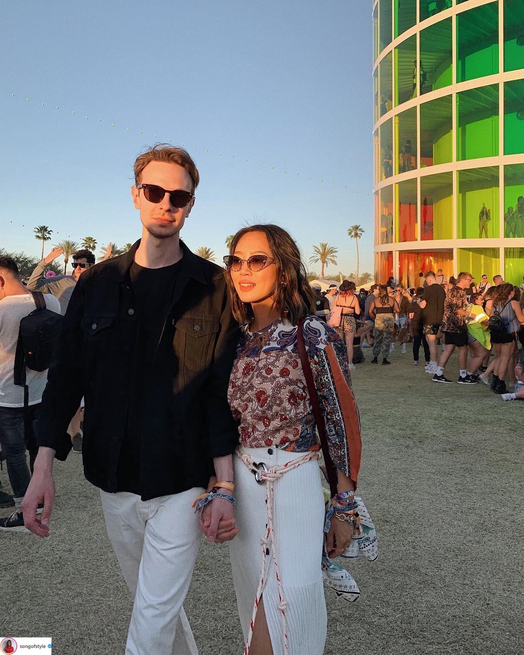 xu hướng thời trang Coachella