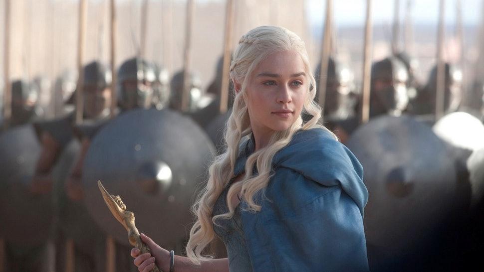 mái tóc daenerys (4) Game of Thrones