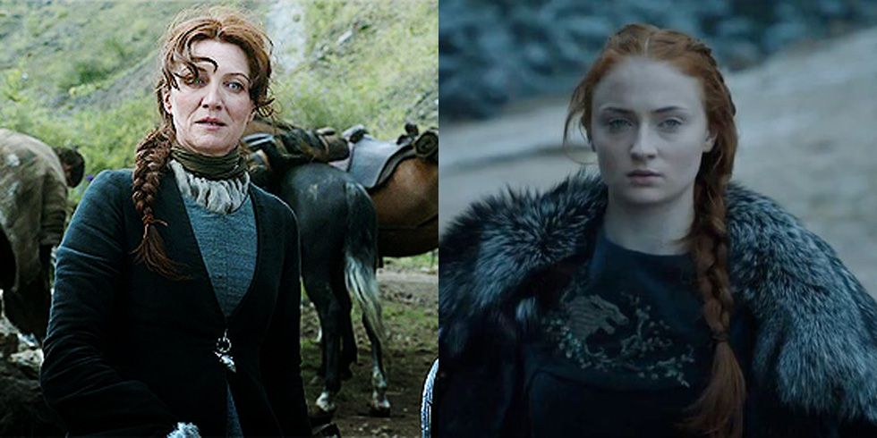 mái tóc sansa (11) Game of Thrones