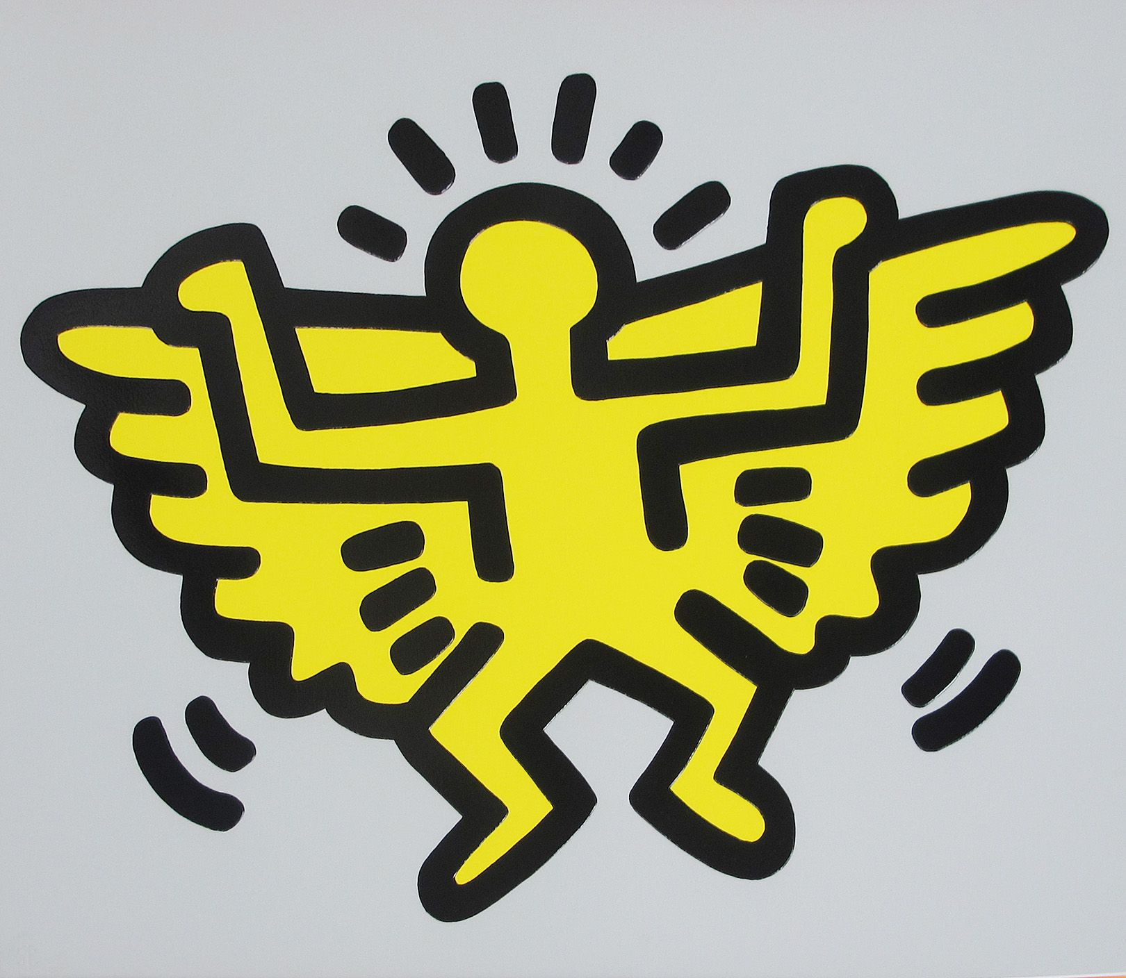 Angel Icon của Keith Haring