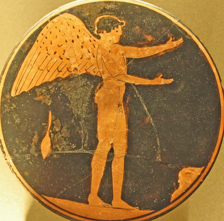 hình ảnh thiên thần Eros