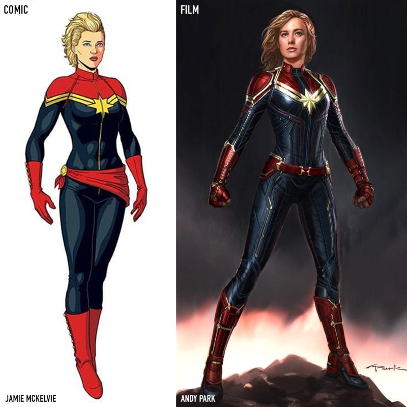 thời trang trong phim captain marvel 1