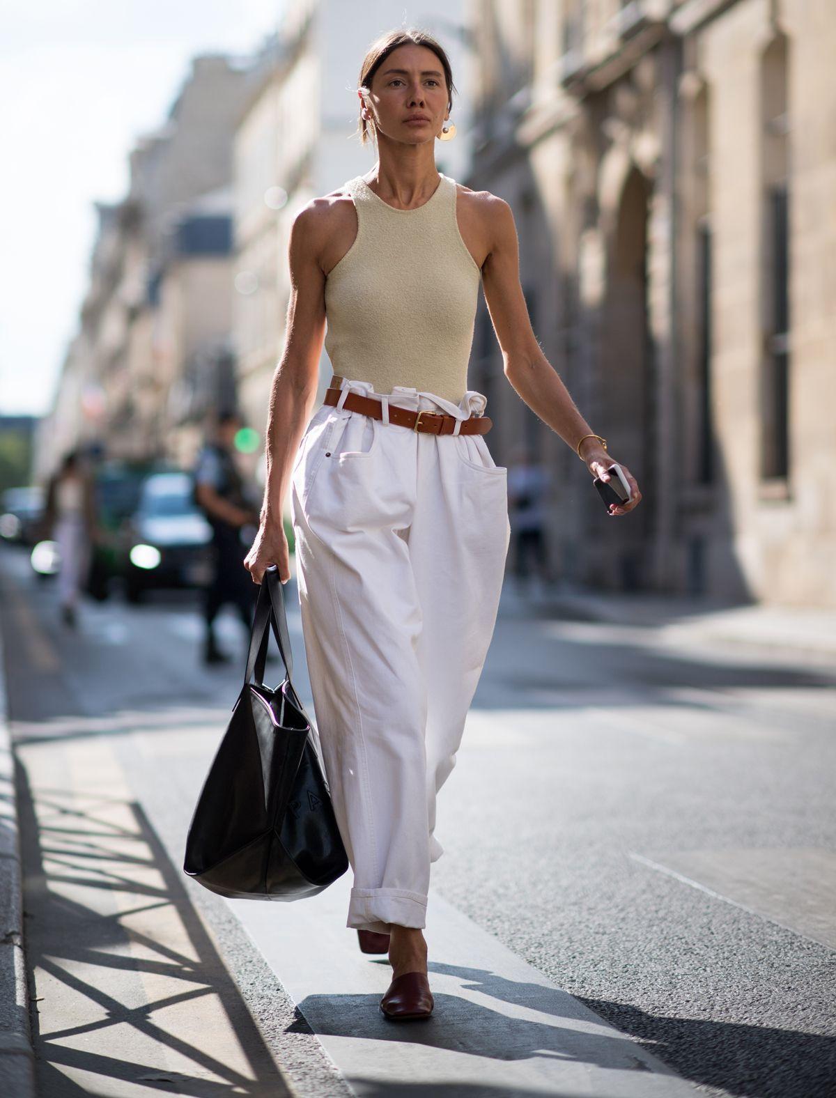 áo ba lô và quần paper bag
