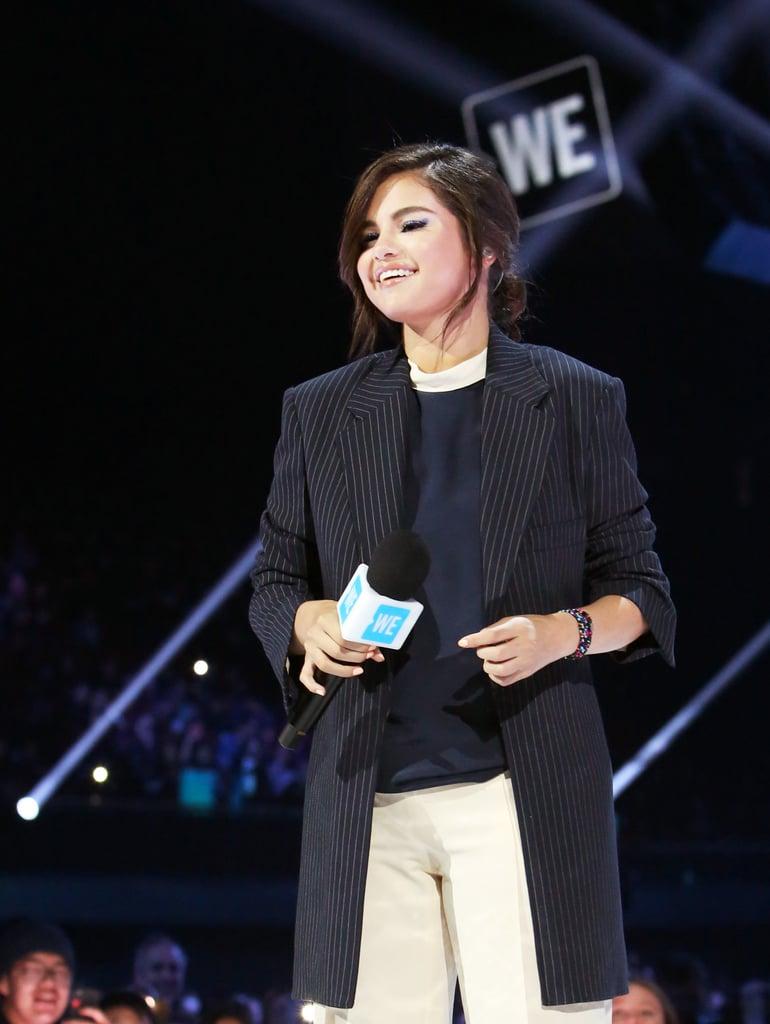 ca sĩ Selena Gomez trở lại thảm đỏ 2