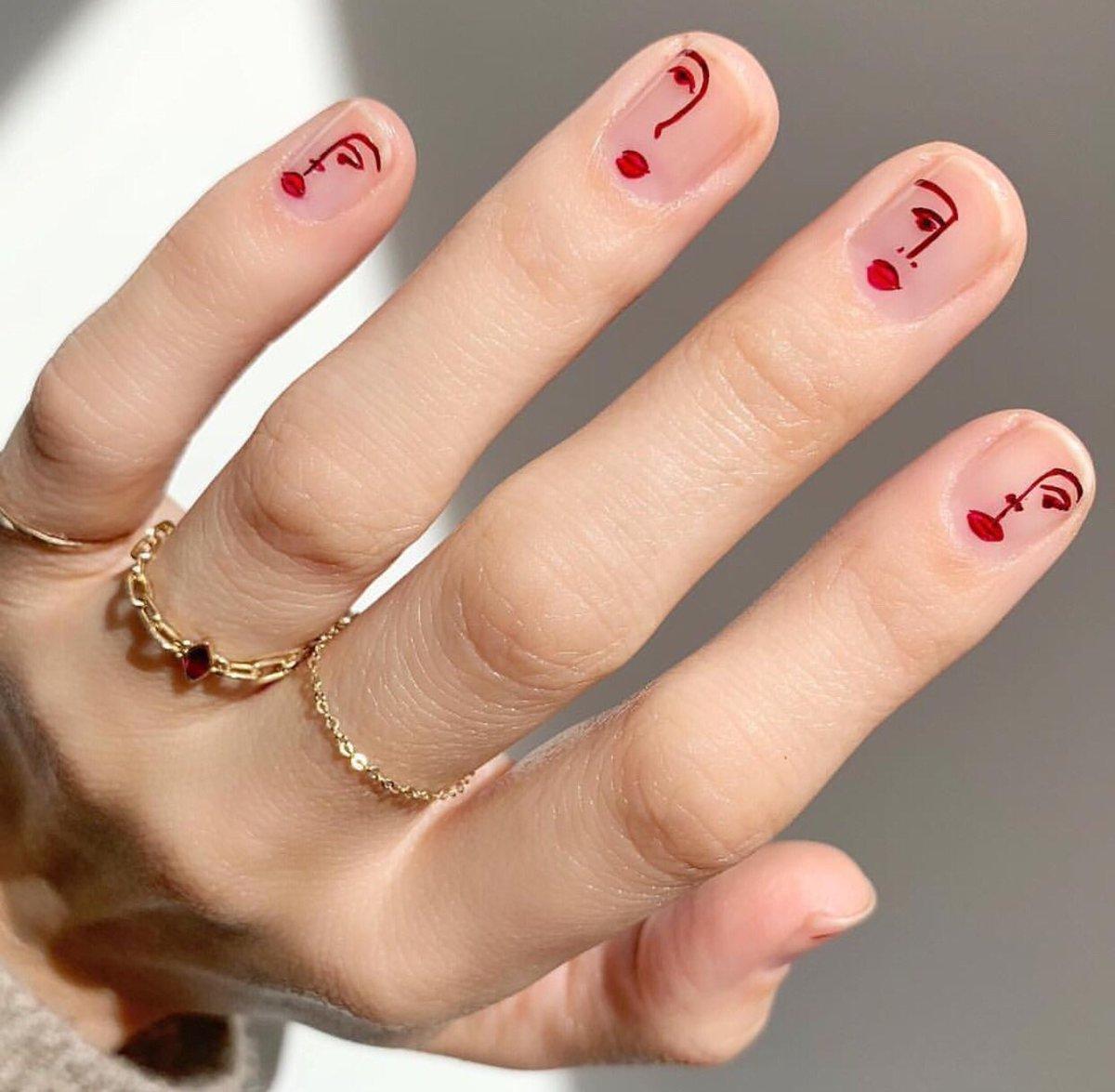 vẽ móng tay đẹp