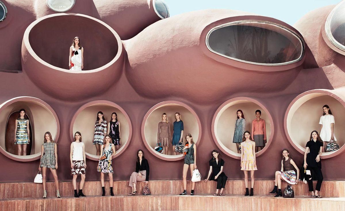 sàn diễn những quả bóng BST Cruise Dior