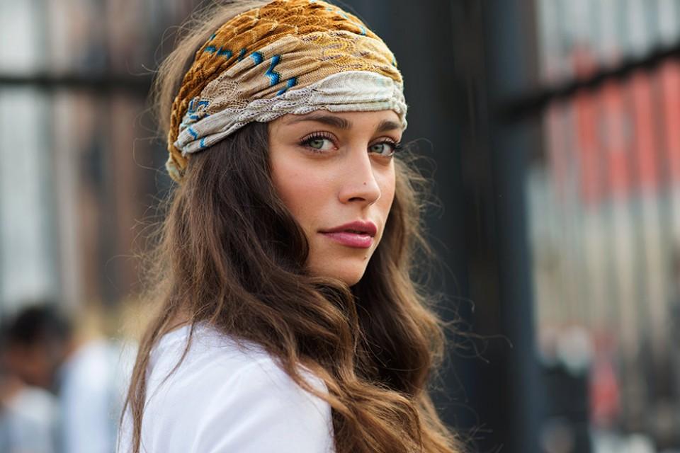 khăn turban họa tiết