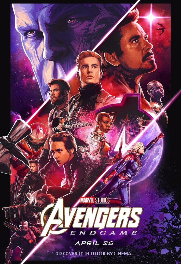 các siêu anh hùng trong avengers endgame
