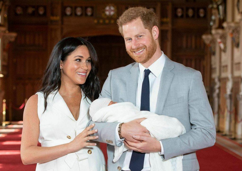 Gia đình Hoàng tử Harry và Meghan Markle