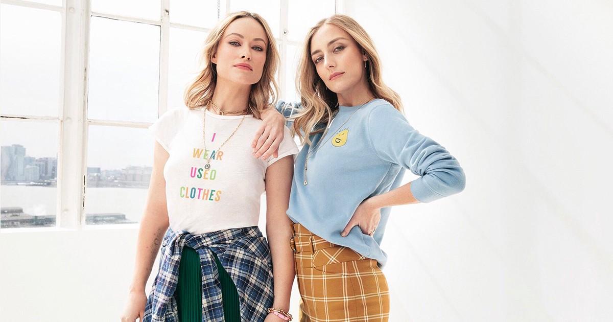 Olivia Wilde và Barbara Burchfield diện trang phục của Conscious Commerce
