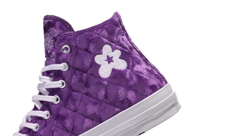 giày converse golf le fleur velvet vải nhung