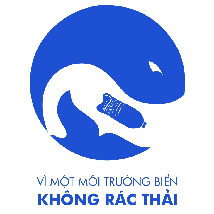 Logo dự án Vì một môi trường biển không rác thải