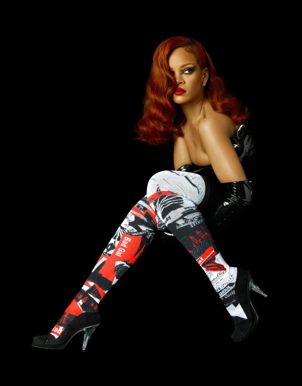 ca sĩ Rihanna tham gia chiến dịch quảng bá của Stance Socks