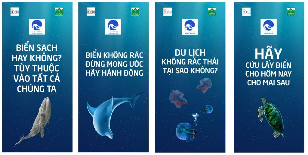 Thông điệp dự án Vì một môi trường biển không rác thải