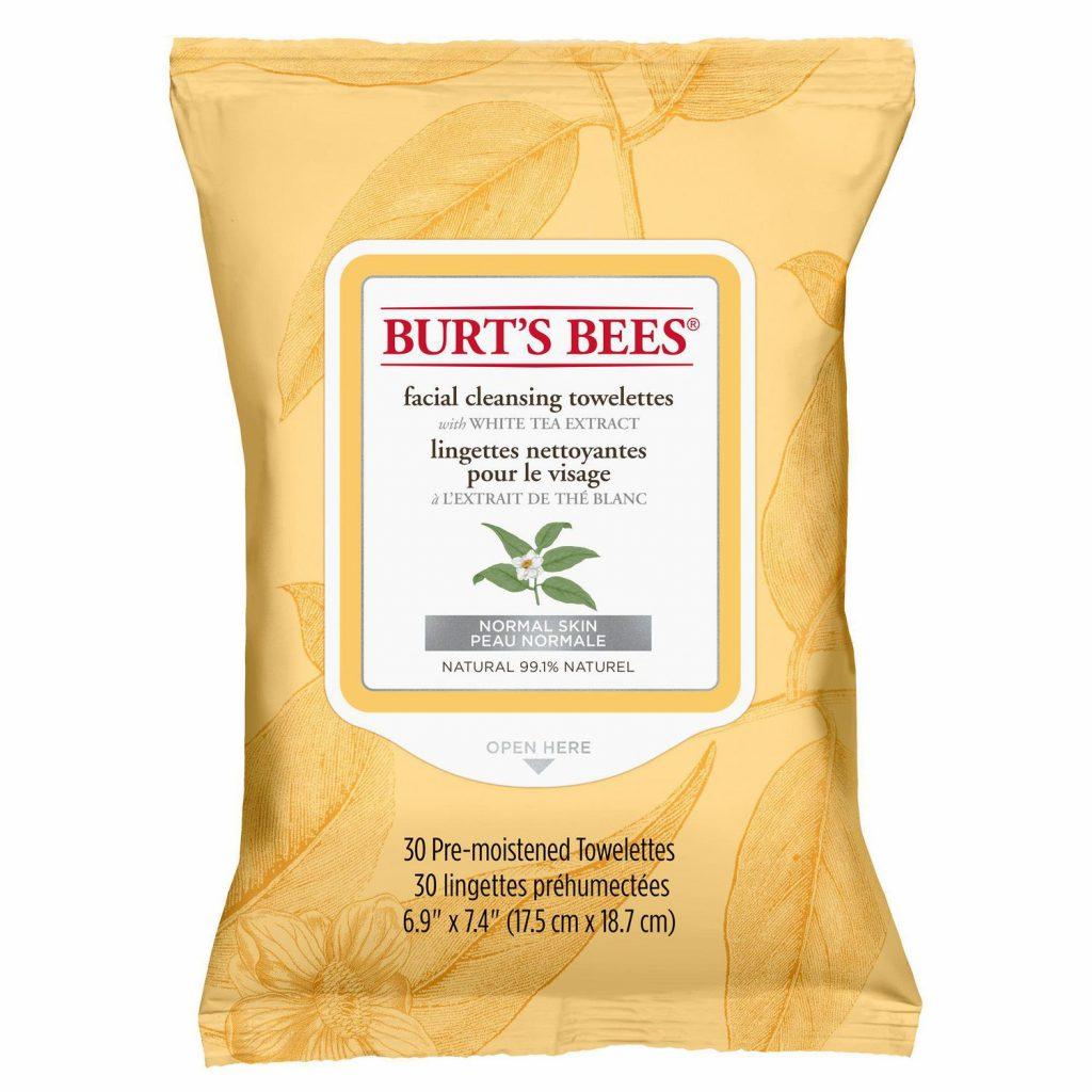 khăn giấy tẩy trang burt's bee