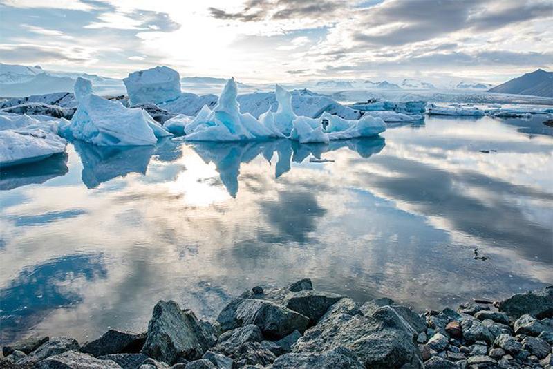 làm đẹp tự nhiên từ nước sông băng
