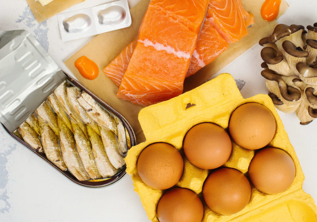 thức ăn bổ sung thiếu hụt vitamin D3