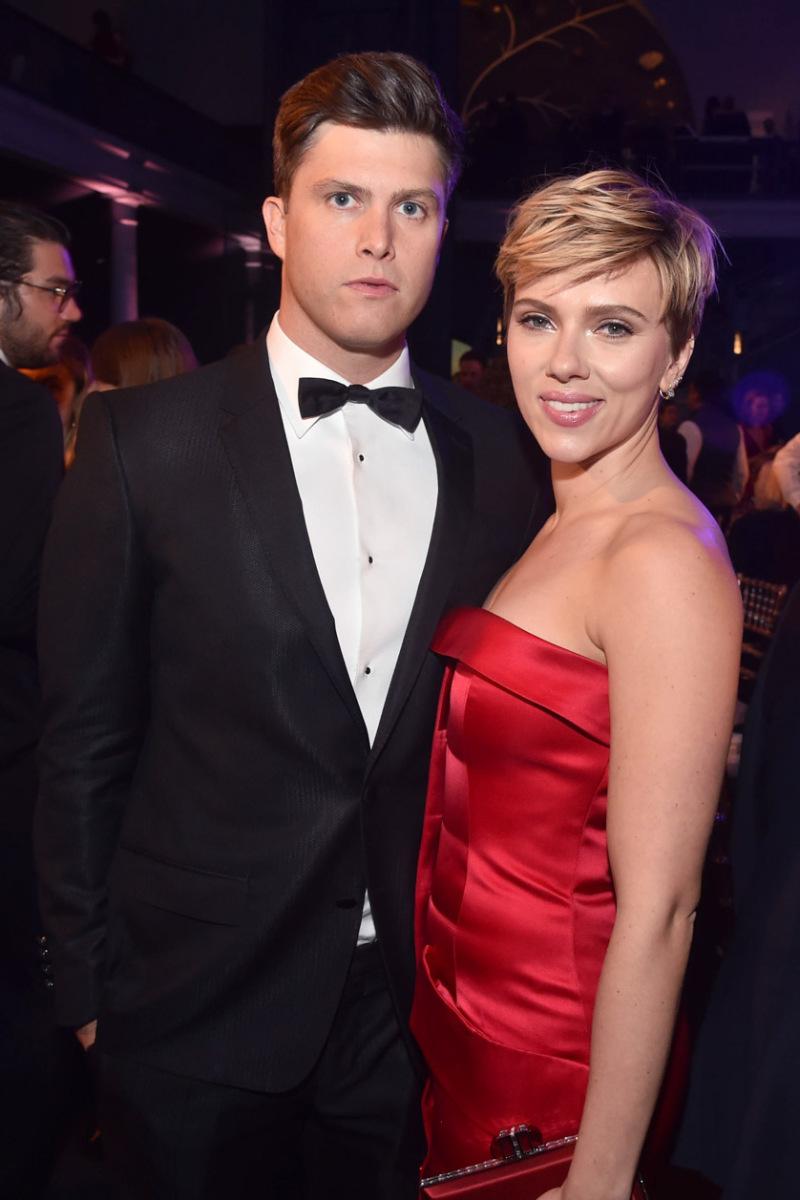 Scarlett Johansson và Colin Jost lầu đầu xuất hiện cùng nhau