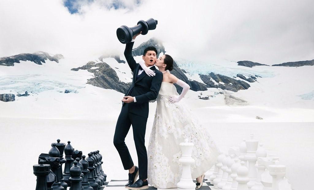 ảnh cưới Ngô Kỳ Long Lưu Thi Thi