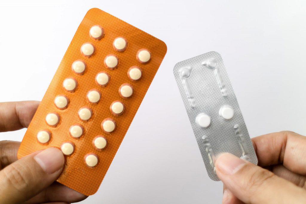 phương pháp tránh thai - vỉ thuốc ngừa thai 01