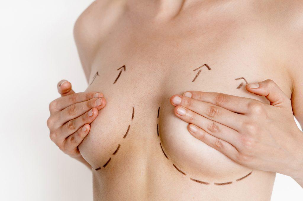 bài tập massage ngực