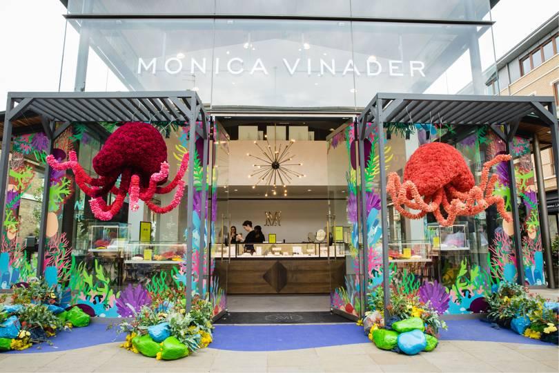 Cửa hàng trang sức Monica Vinader, London