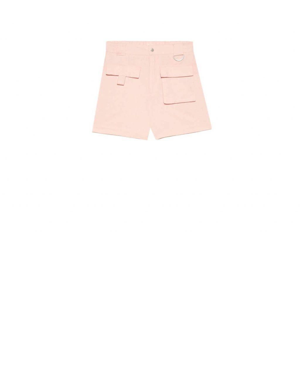 quần shorts màu hồng thời trang mùa Hè stradivarius