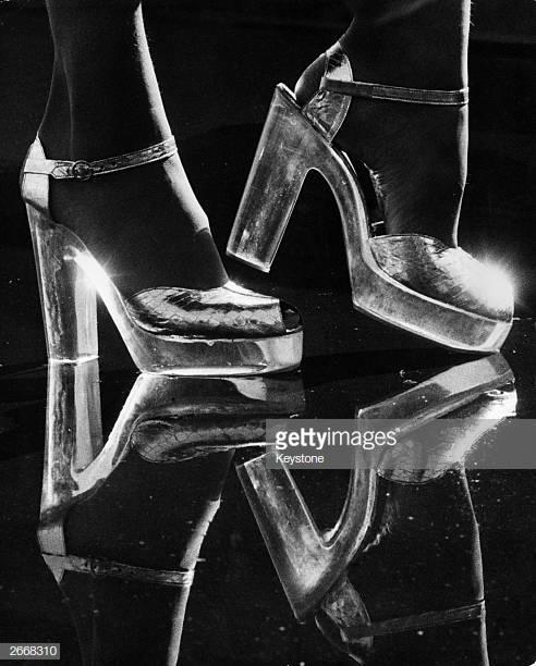 giày cao gót platform
