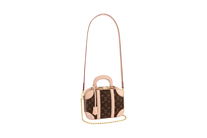 túi xách Louis Vuitton mini luggage màu be
