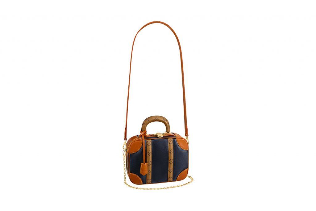 túi xách Louis Vuitton mini luggage màu nâu