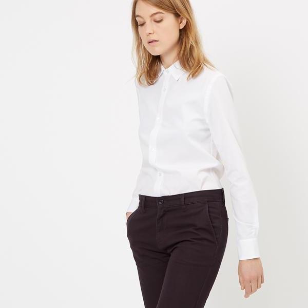 áo sơmi trắng slim fit