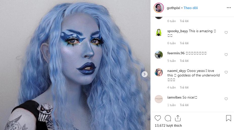 nghệ sĩ trang điểm instagram 12