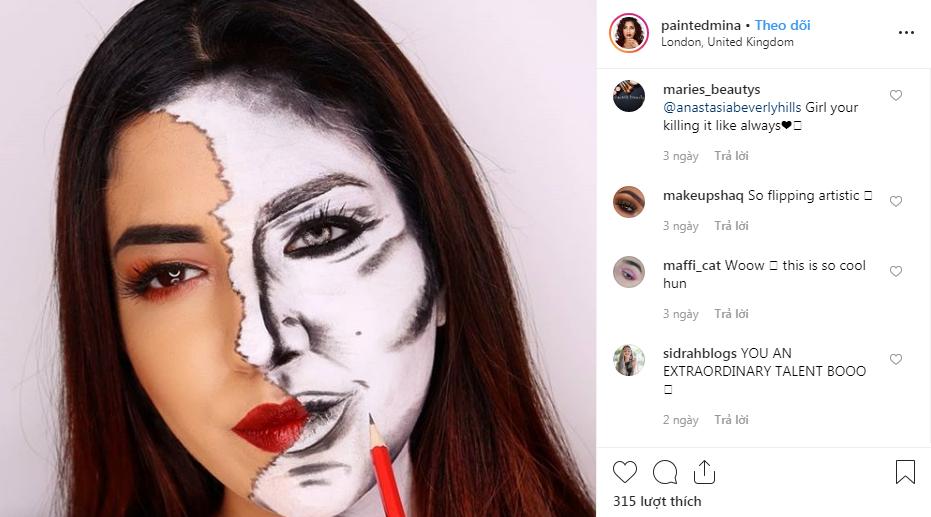 nghệ sĩ trang điểm instagram 18