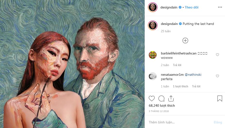 nghệ sĩ trang điểm instagram 38