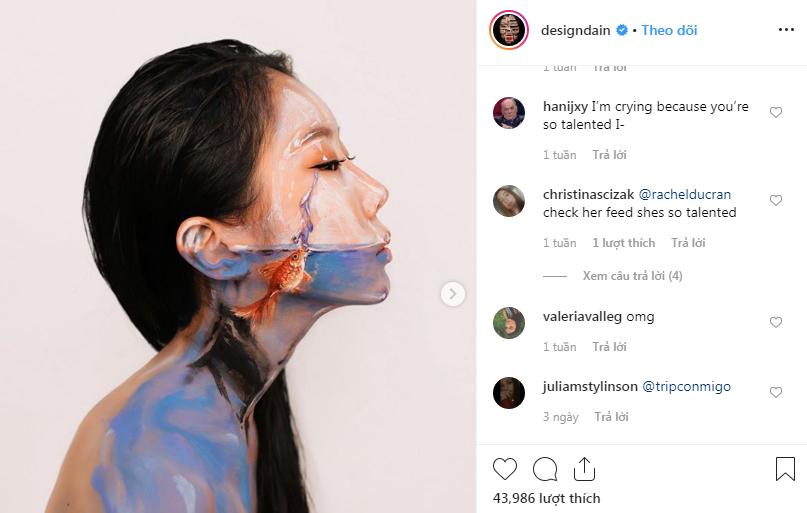 nghệ sĩ trang điểm instagram 39