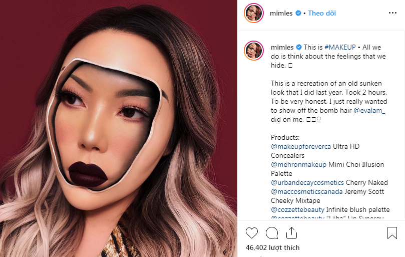 nghệ sĩ trang điểm instagram 41