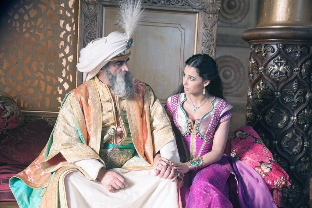 Jasmine và vua cha Sultan