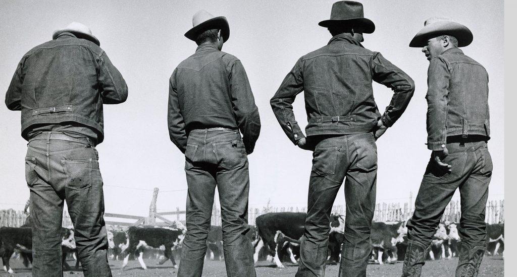quần jeans nam trong quá khứ